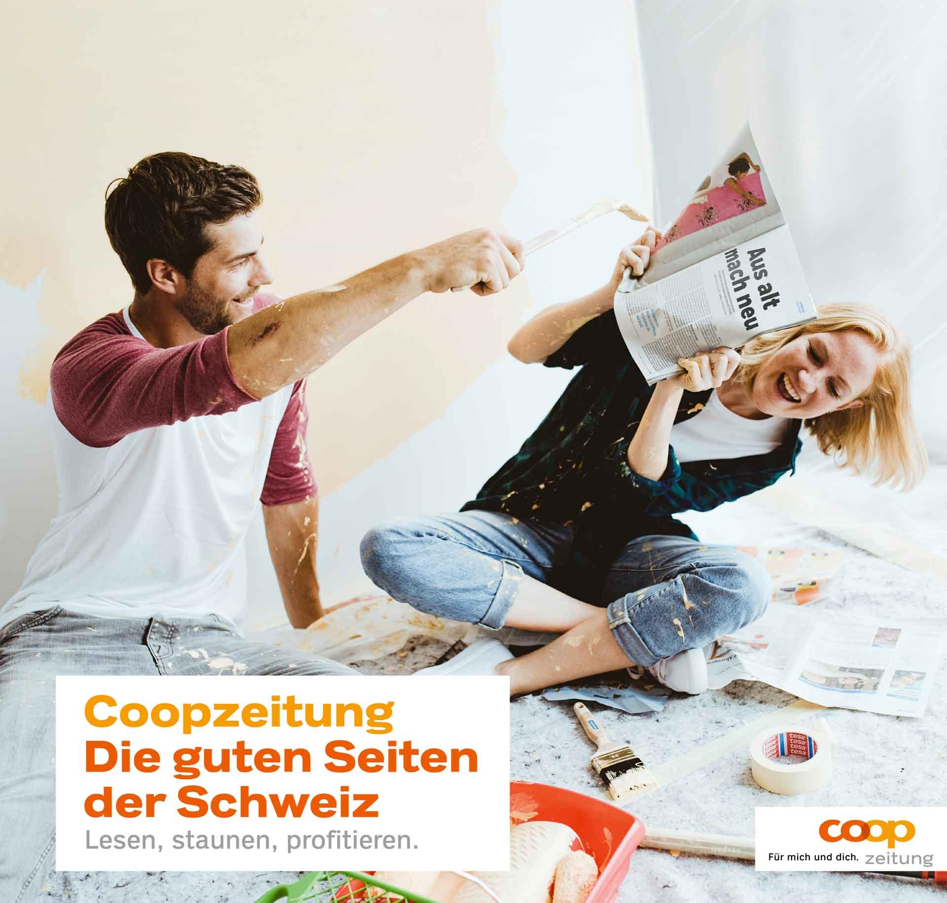cr Basel Werbeagentur coopzeitung imagekampagne