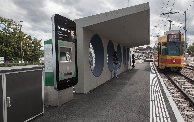 cr Basel Werbeagentur Ticket App Kampagne
