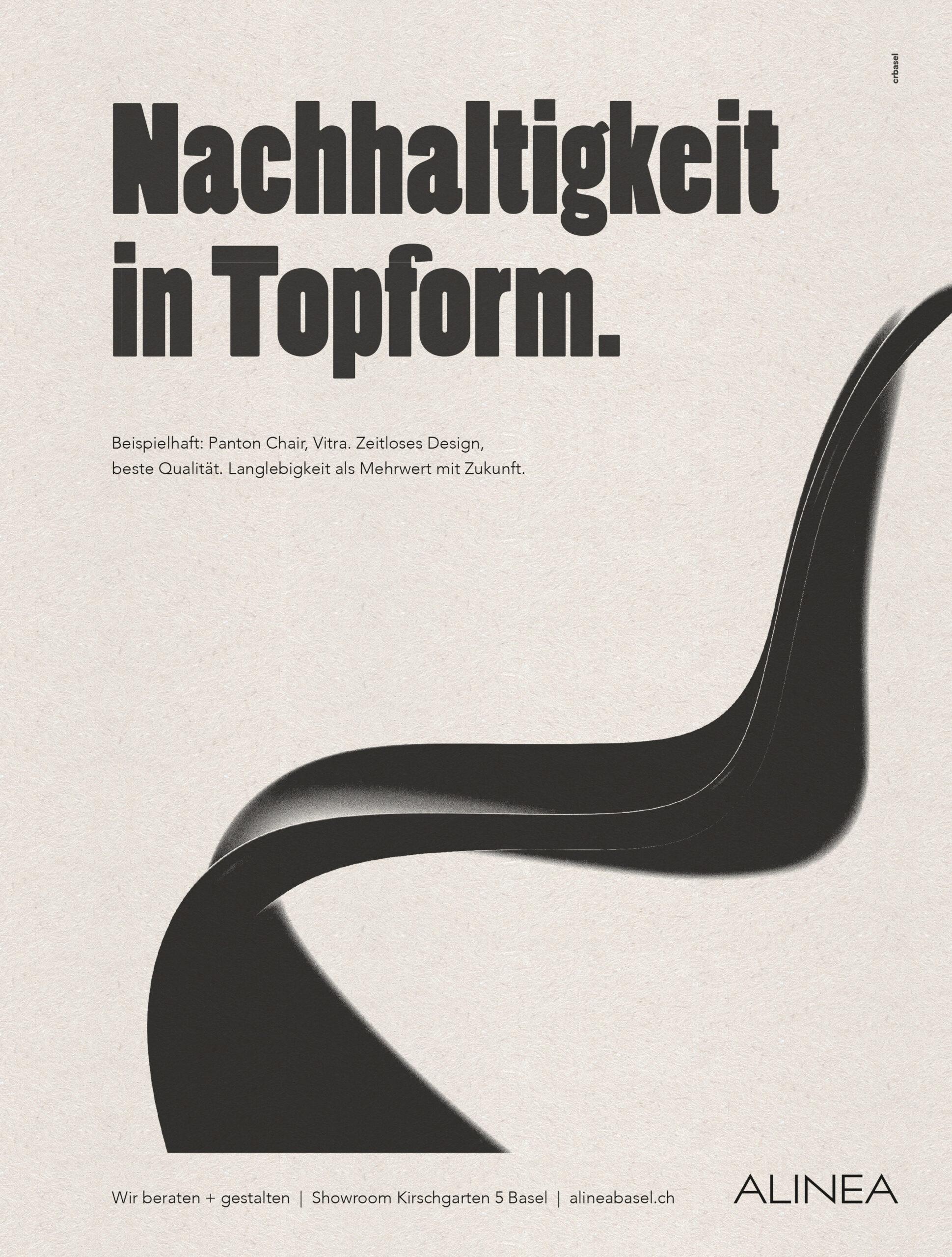 cr Werbeagentur AG Basel alinea